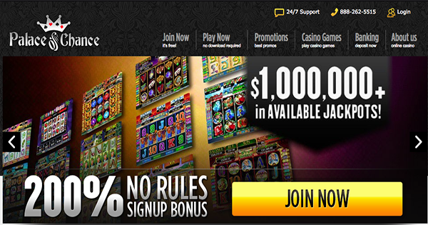 Palace Of Chance Casino No Deposit Bonus