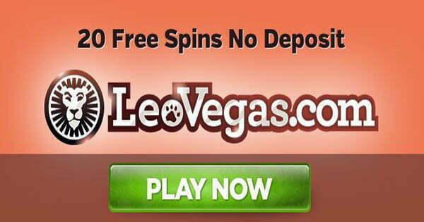 leo vegas casino 20 free spins
