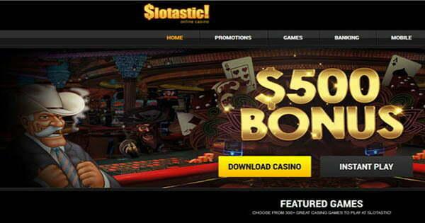 Slotastic Casino No Deposit Bonus Codes
