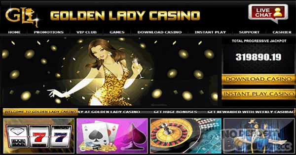 $251 No Deposit Bonus at Golden Lady Casino online no deposit bonus casino