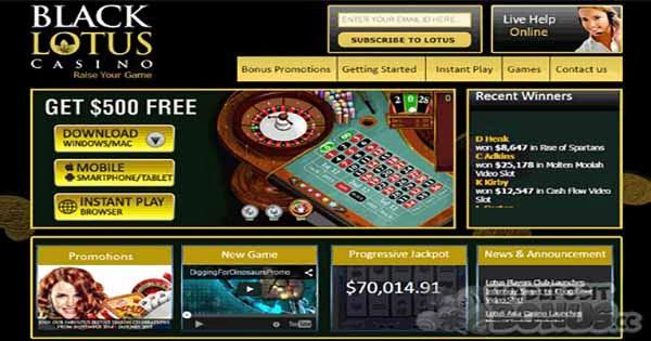 Lotus Asia Casino No Deposit Bonus