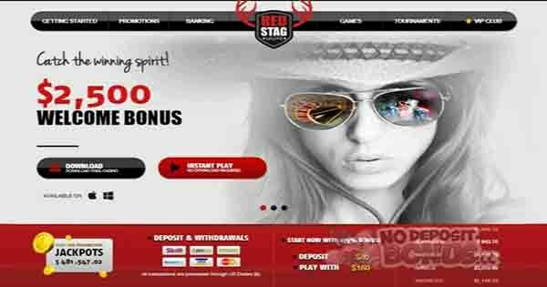 Red Stag No Deposit Bonus