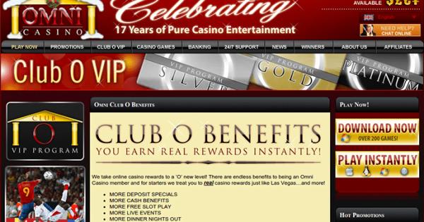 Omni Casino No Deposit Bonus