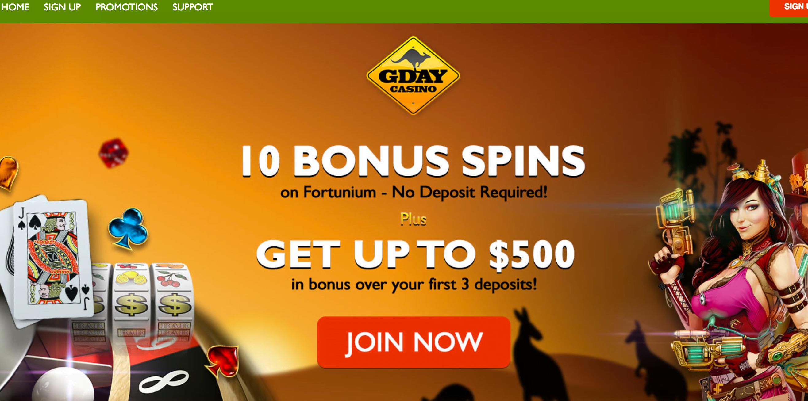 Casino Websites No Deposit