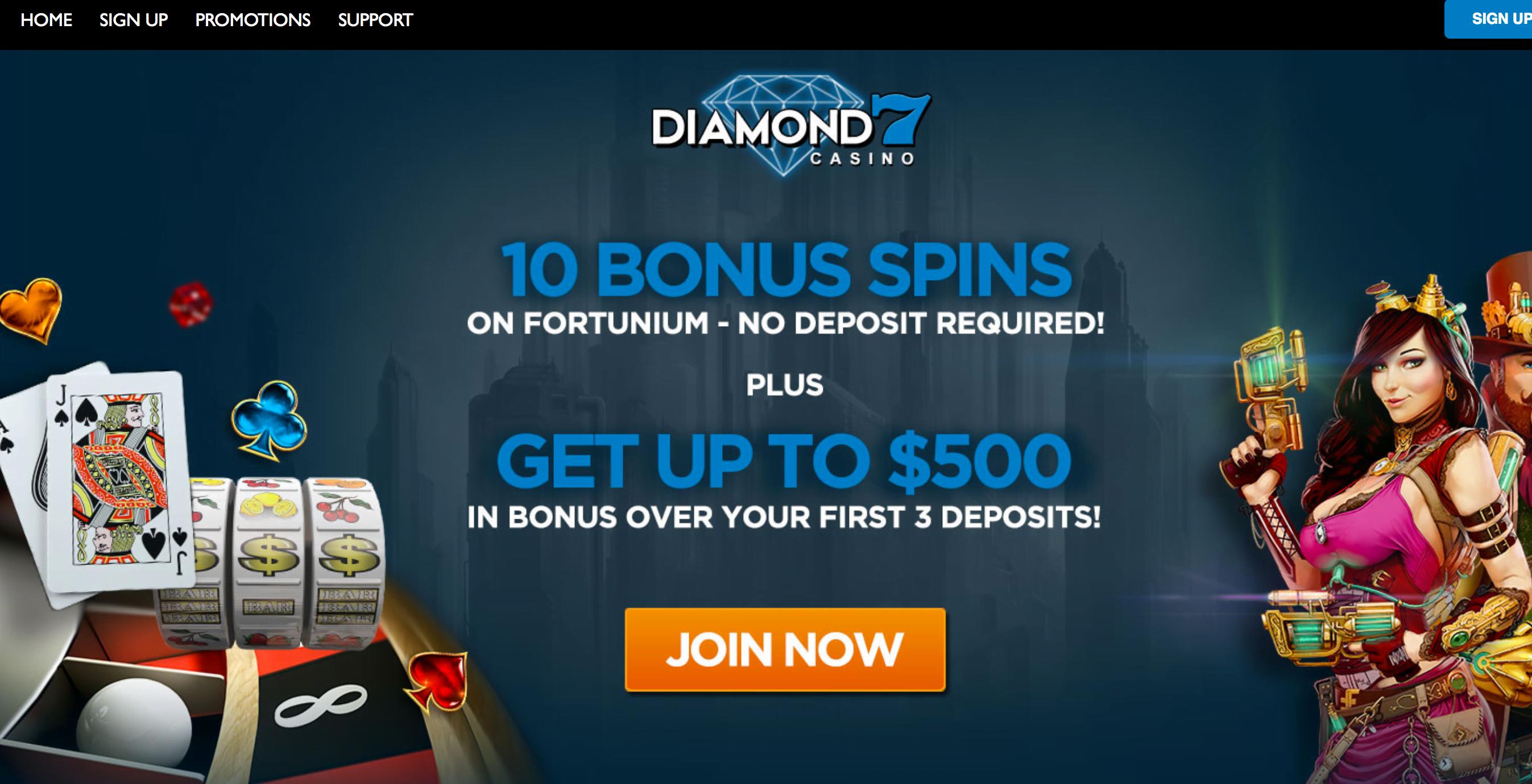 Diamond 7 Casino No Deposit