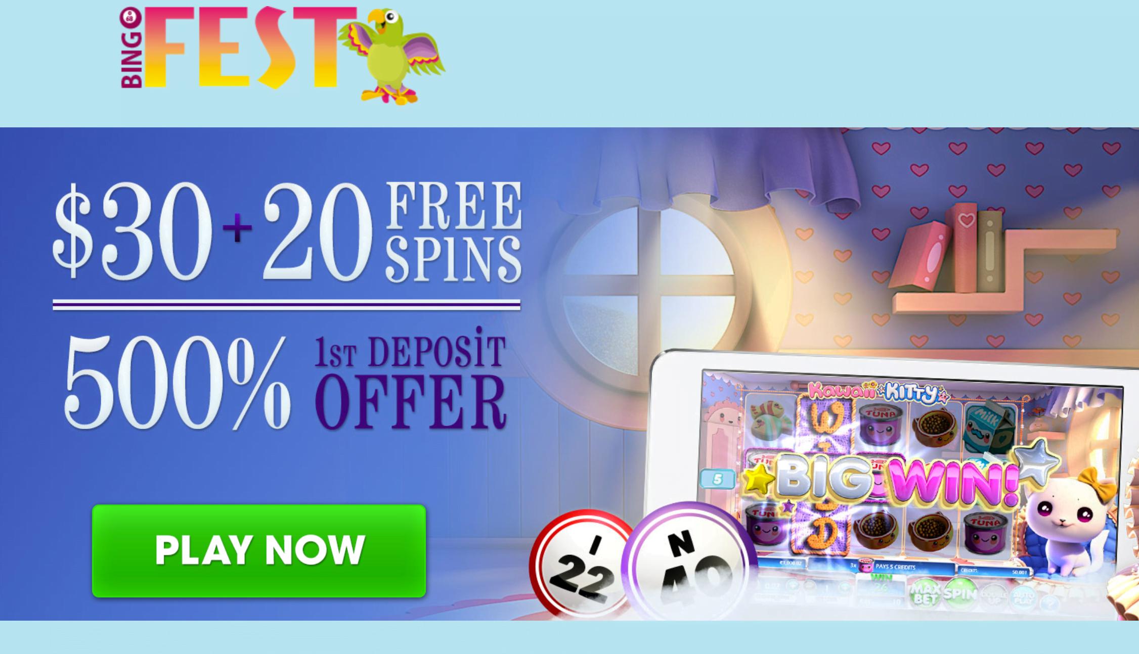 Kitty bingo free spins free