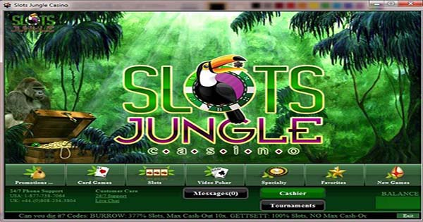 Slots Jungle No Deposit Bonus
