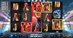 Guns N' Roses online Slot Machine