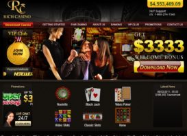Rich Casino No Deposit Bonus Review and Walkthrough