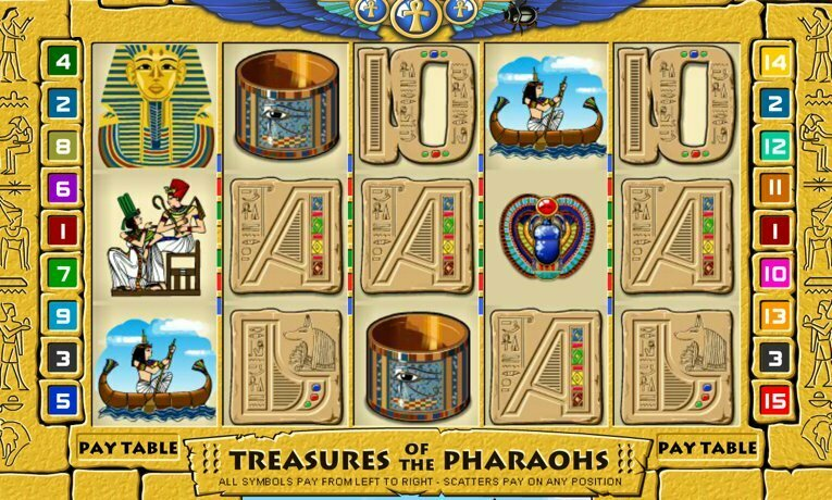 Treasures of the Pharaohs slot