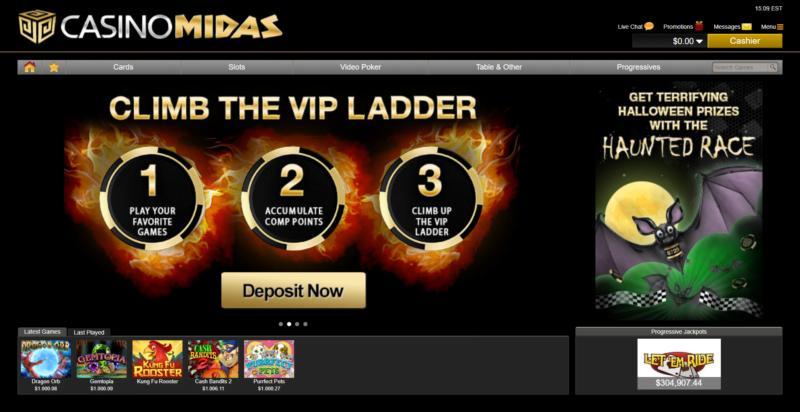 Casino Midas No Deposit Bonus Codes