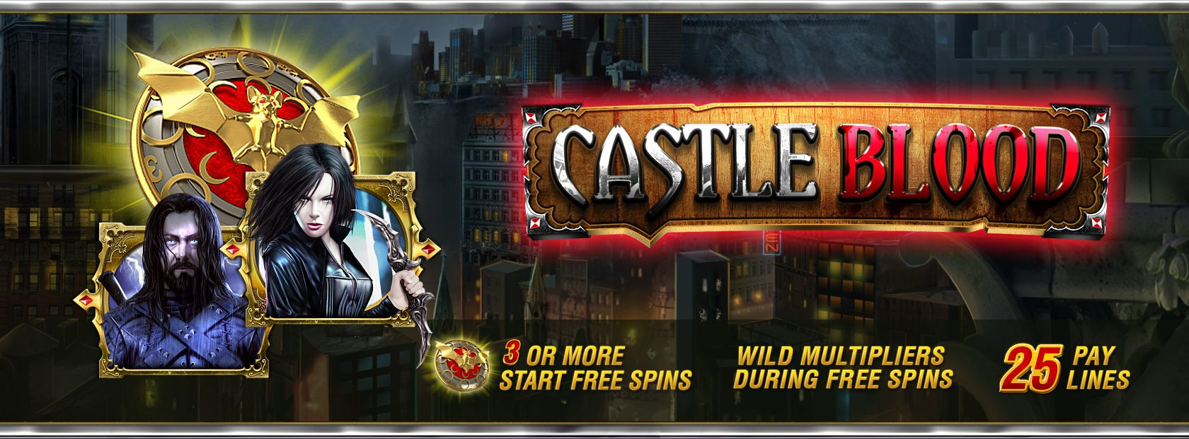 Castle Blood Slot Review