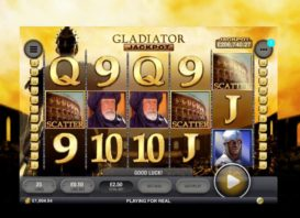 Someone hit the big jackpot on Gladiator Slot!