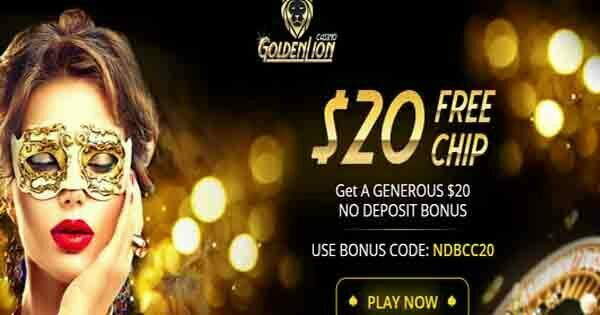 Golden Lion Casino No Deposit Bonus Codes
