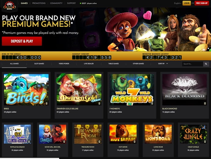 Casino Moons Login