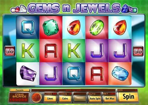 50 Free Spins on 'Gems and Jewels' at Black Lotus | No Deposit Bonus
