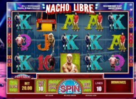 30 Free Spins Nacho Libre online no deposit bonus casino