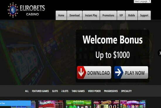 euro bets casino no deposit bonus