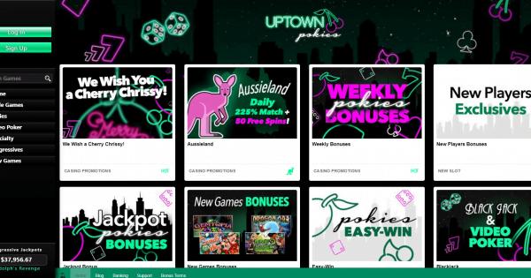 Uptown Pokies No Deposit Bonus