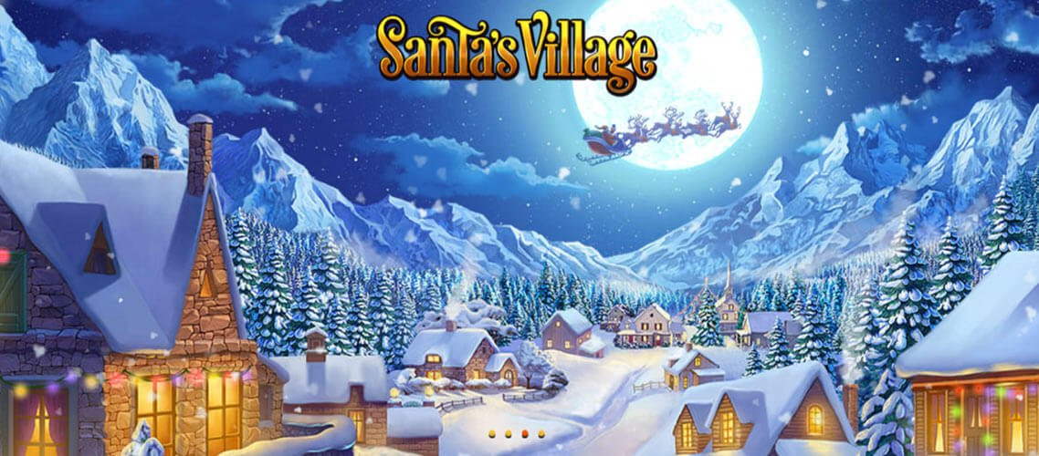 santas village slot review