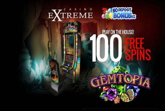 100 Free Spins at Casino Extreme | No Deposit Bonus