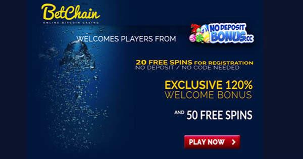 20 Free Spins At Betchain No Deposit Bonus