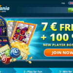 $7 Free Play at Scratchmania online no deposit bonus casino