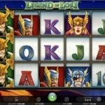 legend of loki slot review screenshot
