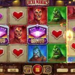lucha maniacs slot review screenshot