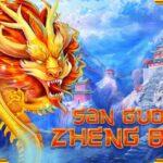 40 Free Spins on 'San Guo Zheng Ba' at Kudos Casino online no deposit bonus casino