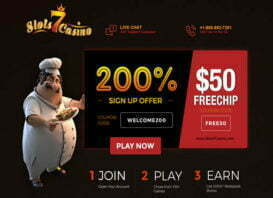 New Site: $50 Free Chip at Slots 7 Casino