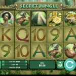 25 Free Spins on 'Secret Jungle' at Uptown Aces online no deposit bonus casino