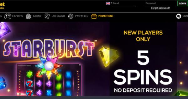 5 Free Spins No Deposit