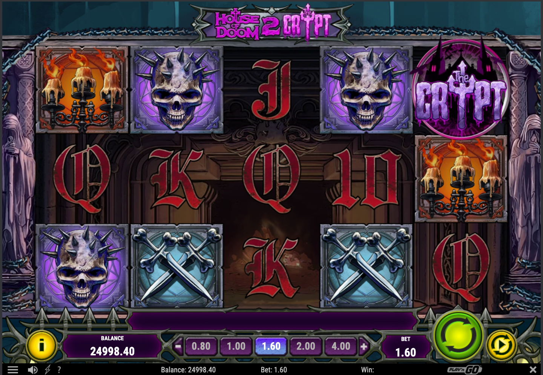 house of doom 2: the crypt slot